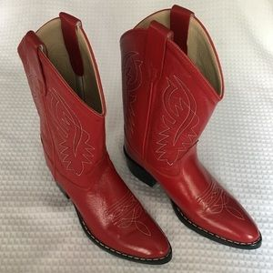Shoes - Brand New Leather Cowboy Boots